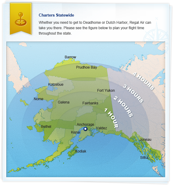 alaska-map – Regal Air – Alaska Flightseeing, Bear Viewing ...