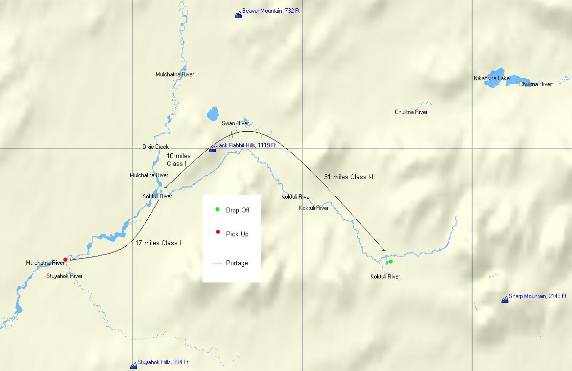 Alaska River Rafting Trip: Koktuli River | Regal Air